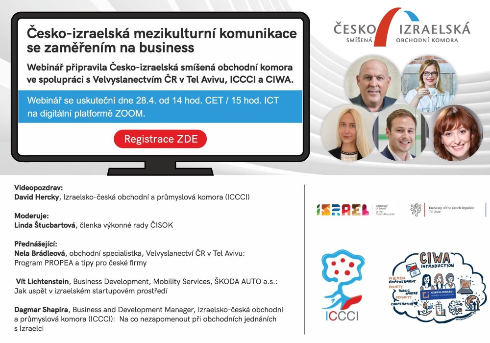 Webinars for Czech entrepreneurs