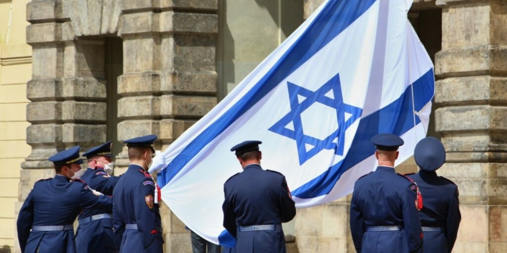 2021 - Czechs show solidarity with Israel